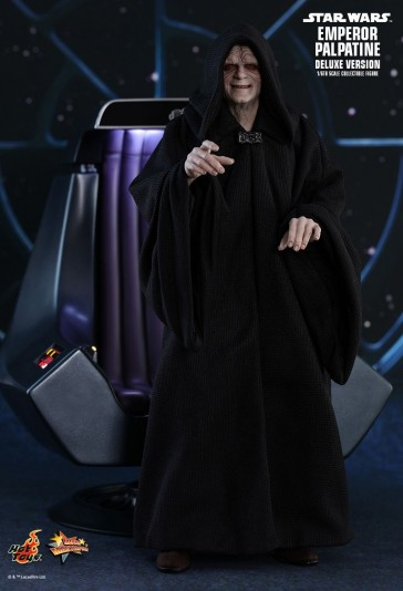 Emperor Palpatine - Star Wars Episode VI - Deluxe Version - Hot Toys
