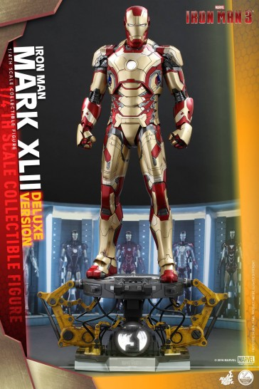 1/4th Scale Mark 42 XLII Deluxe Ver. - Iron Man 3 - Hot Toys