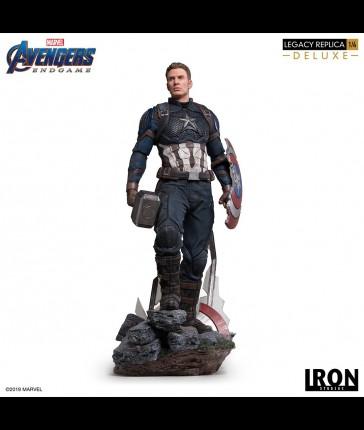 Iron Studios - Captain America - Avengers: Endgame - 1/4 Legacy Deluxe Statue