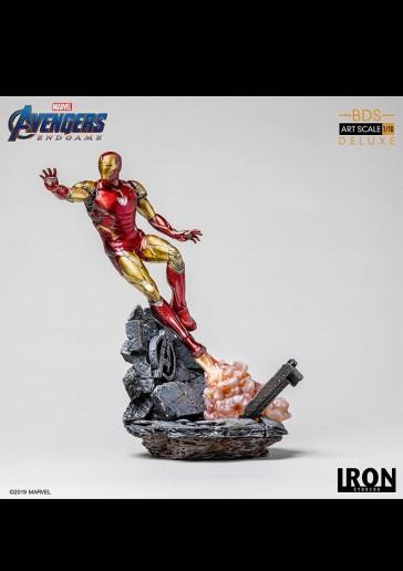 Iron Studios - Iron Man - Mark 85 - Endgame - Art Scale Statue - Deluxe Version