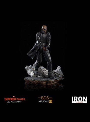 Iron Studios - Nick Fury - Spider-Man: Far From Home - BDS Art Scale Statue