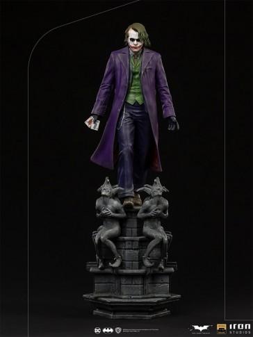 Iron Studios - Joker - The Dark Knight - Deluxe Art Scale Statue