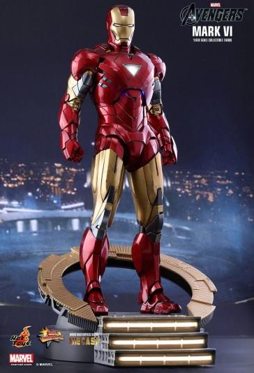 Iron Man Mark VII - The Avengers DIECAST - HotToys