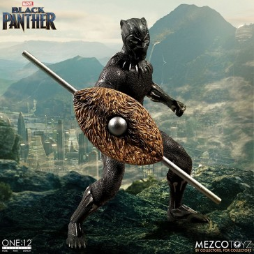 1/12 Black Panther - Mezco Toys