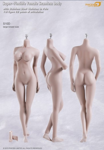 Phicen Female Seamless Body Large Breast - S10D