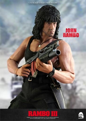 Threezero - John Rambo - Rambo III - Sylvester Stallone