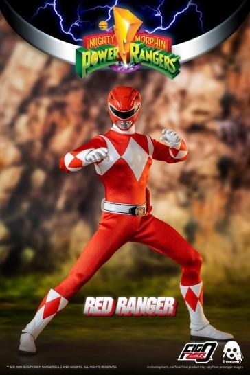 Threezero - Mighty Morphin Power Rangers - Red Ranger - 1/6 Actionfigur
