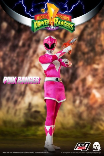 Threezero - Mighty Morphin Power Rangers - Pink Ranger - 1/6 Actionfigur