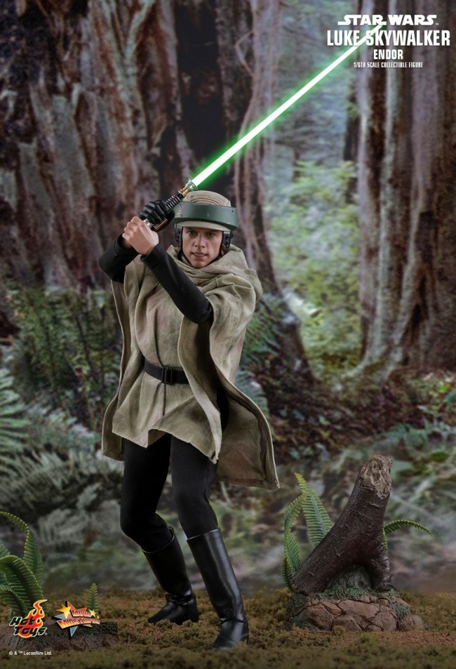 Luke skywalker return of the jedi endor
