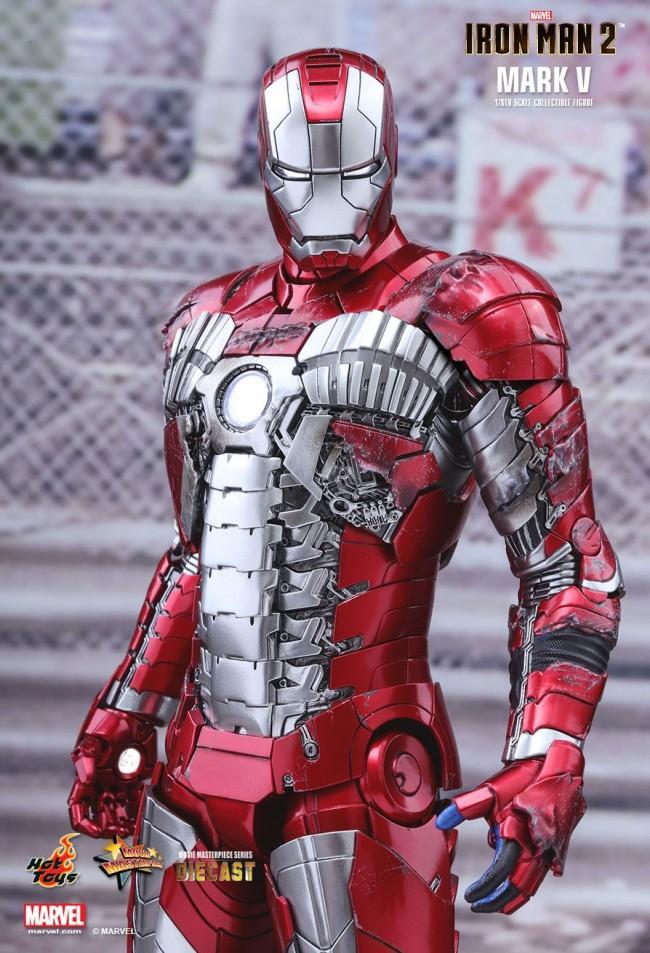 Iron Man 2: Iron Man Mark V Von Hot Toys Aus Iron Man 2