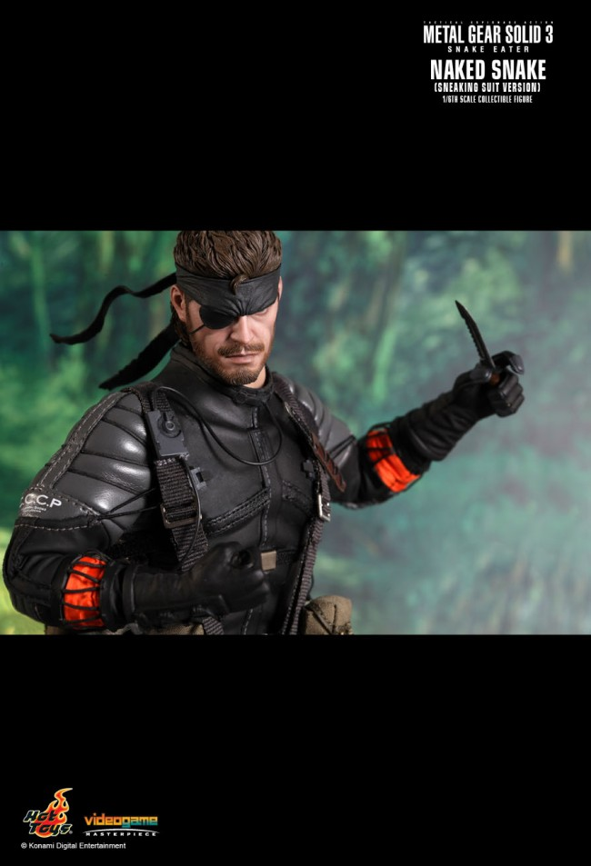 Metal Gear 3 Solid Snake Eater Naked Snake Render by The