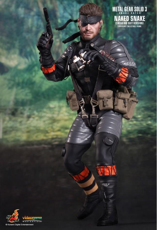 Naked Snake - Metal Gear Solid 3 - Snake Eater-5235