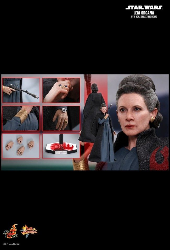 Leia Organa von Hot Toys aus Star Wars: The Last Jedi - MMS459 - incredible-figures