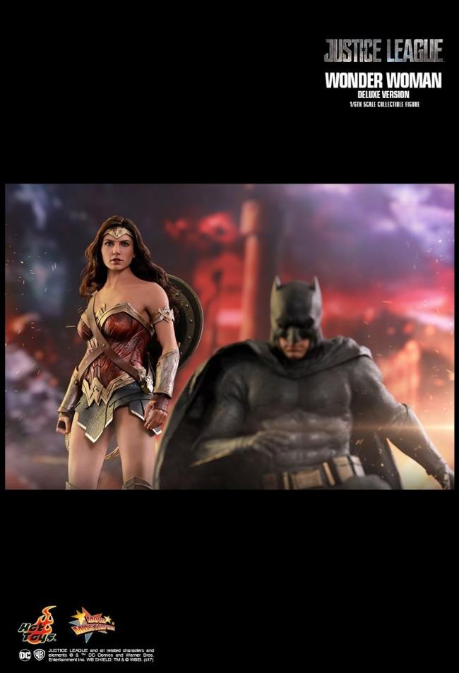 wonder woman justice league gal gadot mms451 dc