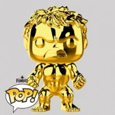 Funko Pop - Hulk Gold Chrome Vinylfigur - Marvel MS 10 - 379