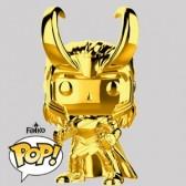 Funko Pop - Loki Gold Chrome Vinylfigur - Marvel MS 10 - 376