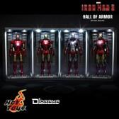 Hot Toys - Hall of Armor - Diorama-Serie - Set of 4 - Iron Man 3