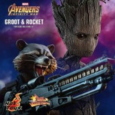 Hot Toys - Groot & Rocket - Avengers: Infinity War