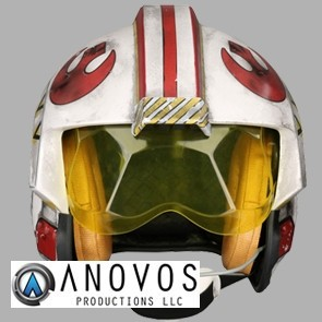 1:1 Luke Skywalker Rebel Pilot Helm - Anovos