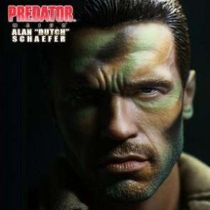 """Hot Toys - Arnold Schwarzenegger as Major Alan """"Dutch"""" Schaefer"""