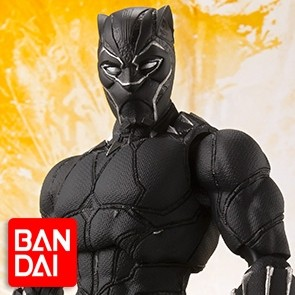 Black Panther - Avengers: Infinity War - S.H. Figuarts - Bandai