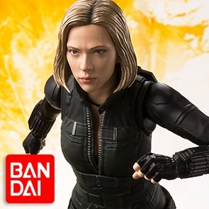 Black Widow - Batman - Infinity War - S.H. Figuarts - Bandai