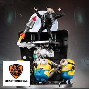 Beast Kingdom - Minions Stealing Moon - D-Stage - PVC Diorama