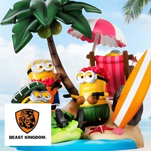 Beast Kingdom - Minions Fire Fighter - D-Stage - PVC Diorama