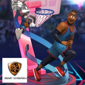 Beast Kingdom - Space Jam - Bugs Bunny & Lebron - D-Stage - PVC Diorama