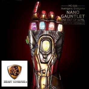 Beast Kingdom - Nano Gauntlet 1/14000605 - Avengers Endgame - 1/1 Mastercraft Staue Replica