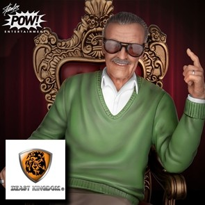 Beast Kingdom - Stan Lee - The King of Cameos - Master Craft Statue