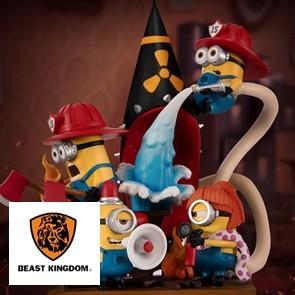 Beast Kingdom - Minions Fire Fighter - D-Stage - PVC Dioram