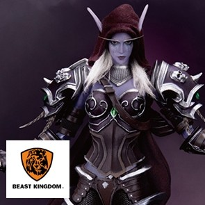 Beast Kingdom - World of Warcraft - Sylvanas Windrunner - Dynamic 8ction Heroes