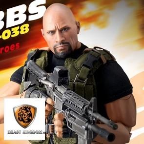 Beast Kingdom - Luke Hobbs - Fast & Furious - Dynamic 8ction Heroes Actionfigur