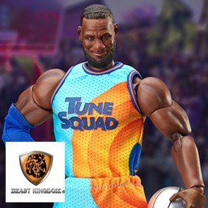 Beast Kingdom - Space Jam: A New Legacy - LeBron James - Dynamic Action Heroes Actionfigur