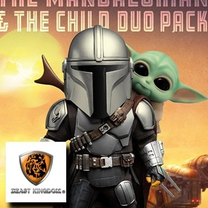 Beast Kingdom - The Mandalorian & The Child - Egg Attack Duo-Pack