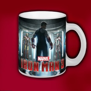 Iron Man 3 Tony Stark Becher - Becher