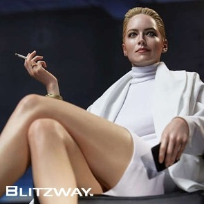 1/4 Sharon Stone - Basic Instinct (Superb Scale Hybrid) (Blitzway)