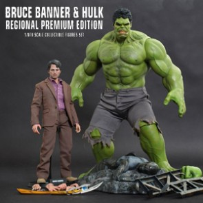 Hot Toys - Bruce Banner and Hulk -The Avengers