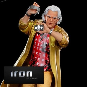 Iron Studios - Doc Brown - Back to the Future Part II - Art Scale