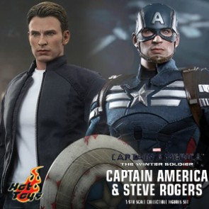 Captain America & Steve Roger - Captain America II - HotToys