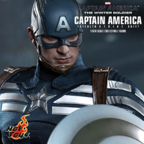 Captain America - Stealth S.T.R.I.K.E. Suit- HotToys