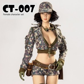 Cat Toys - Female Mechanic Character Set - CT007 C