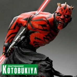 Kotobukiya - Darth Maul Japanese Ukiyo-E Style - ARTFX