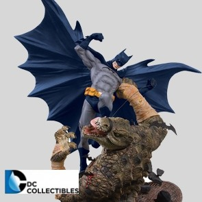 DC Collectibles - Batman vs. Killer Croc - Mini Battle Statue