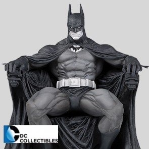 DC Collectibles - Batman - Black & White Statue - by Marc Silvestri