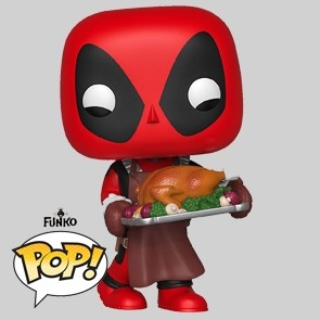Funko Pop - Deadpool - Supper Hero - Holiday- Vinylfigur - 534