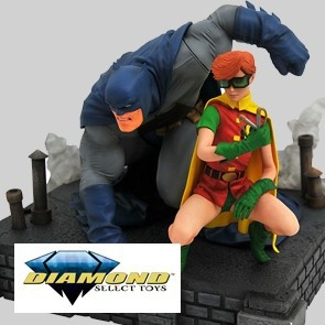Diamond Select - Batman & Robin - Dark Knight Returns - Gallery Statue - Deluxe
