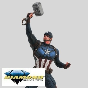 Diamond Select - Captain America - Avengers Endgame - Marvel Gallery PVC Statue