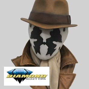 Watchmen Legendary Film Rorschach 1/2 Scale Bust - Diamond Select